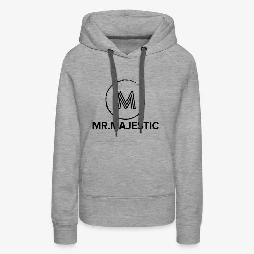 Majestic logo - Women's Premium Hoodie