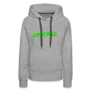 LYFECYCLE RETRO LOGO - Women's Premium Hoodie