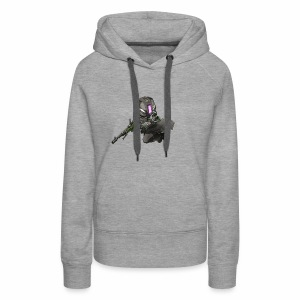 Whiskers with No Land - Women's Premium Hoodie