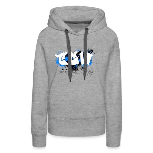 TGW Black and blue edition - Women's Premium Hoodie