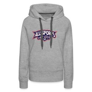 All Sports All Day Logo - Women's Premium Hoodie