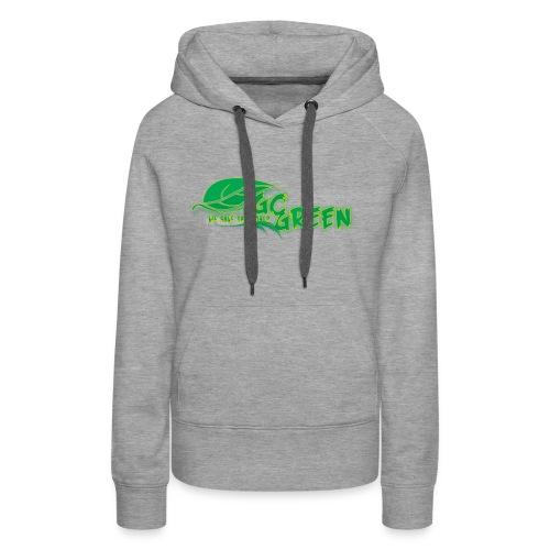 go green - Women's Premium Hoodie