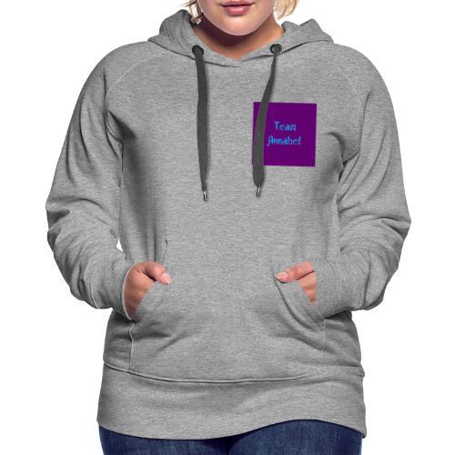 Annabel Fashion line - Women's Premium Hoodie