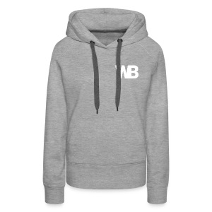 Winged Bandit WHITE profile picture - Women's Premium Hoodie