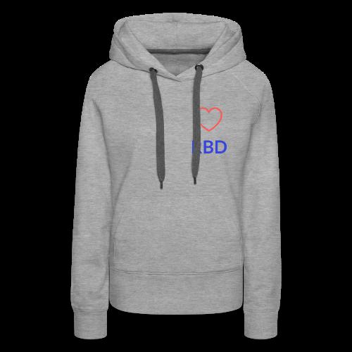 Simple RBD logo - Women's Premium Hoodie