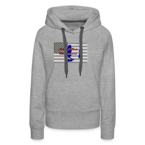 Grey Flag - Women's Premium Hoodie