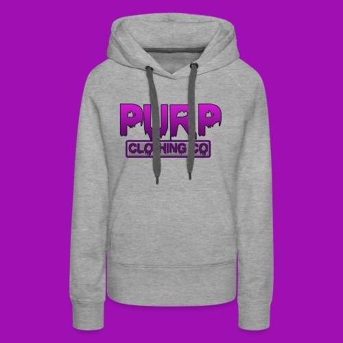 Purp Clothing Logo - Women's Premium Hoodie