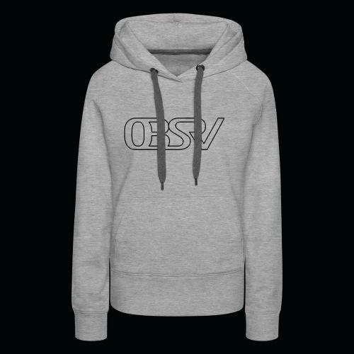 OBSRV Void - Women's Premium Hoodie