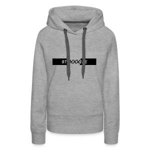 Stripe - XXX Logo T-shirts and Hoodies. - Women's Premium Hoodie