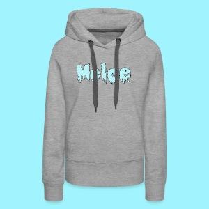 Meloe Drip Drop Logo - Women's Premium Hoodie