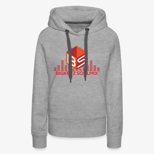 RETRO RED with whitee shirt - Women's Premium Hoodie