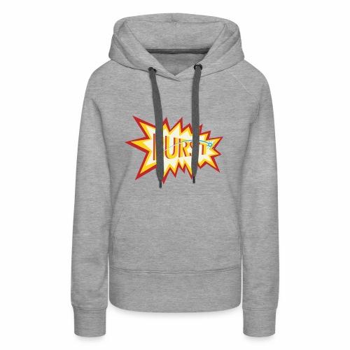 burst shirt - Women's Premium Hoodie
