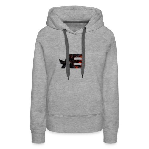 Official A6 Logo Black And Red - Women's Premium Hoodie