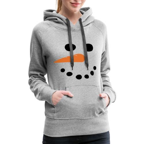 SNOWMAN - Women's Premium Hoodie