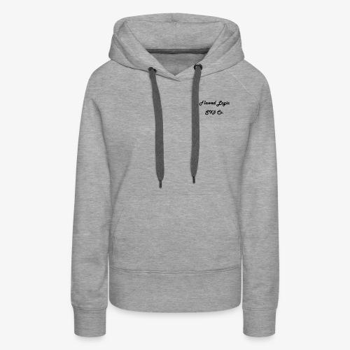 Flawed Logic SK8 Co. - Women's Premium Hoodie