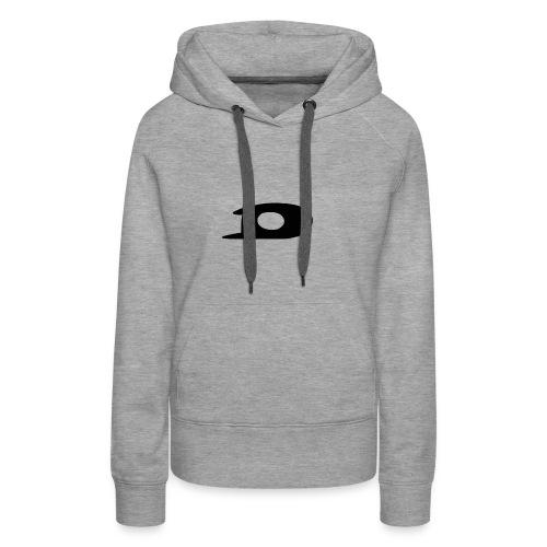 ORIGINAL BLACK DETONATOR LOGO - Women's Premium Hoodie