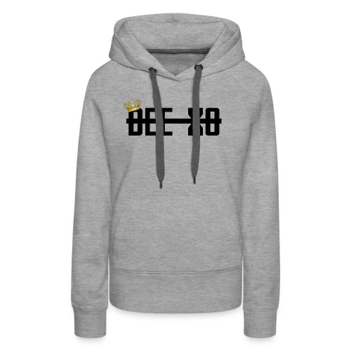 Black Crowned Dee Merch - Women's Premium Hoodie