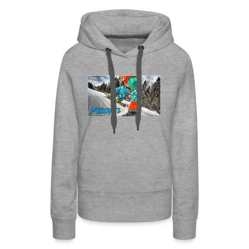Bukovel Snowboarding - Women's Premium Hoodie