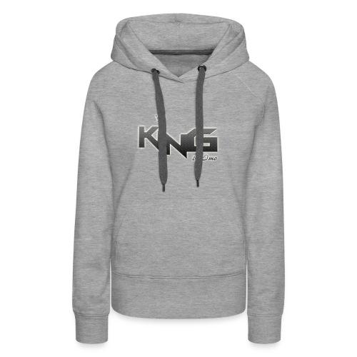 king logo v4 - Women's Premium Hoodie