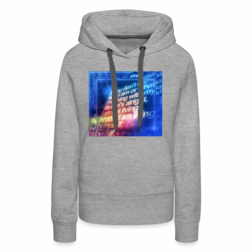 Remember to appreciate people for who they are. - Women's Premium Hoodie