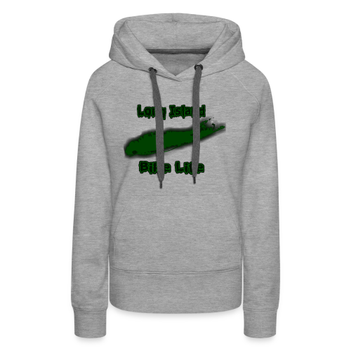 Long Island Bike Life (GREEN) - Women's Premium Hoodie