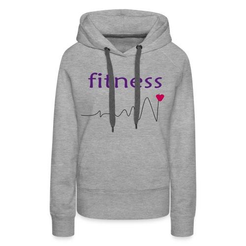 fitness 2 - Women's Premium Hoodie