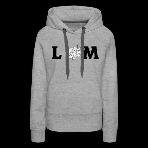 LM Flower - Women's Premium Hoodie