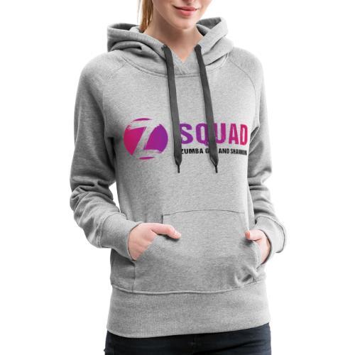 Z SQUAD LogoBLACK - Women's Premium Hoodie