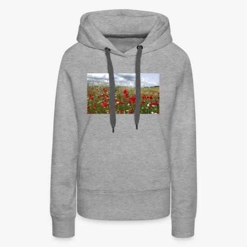 Poppy field forever - Women's Premium Hoodie
