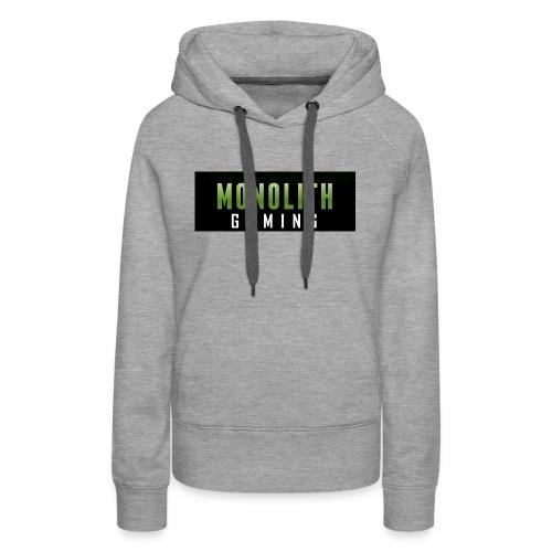 Monolith Gaming Logo - Women's Premium Hoodie