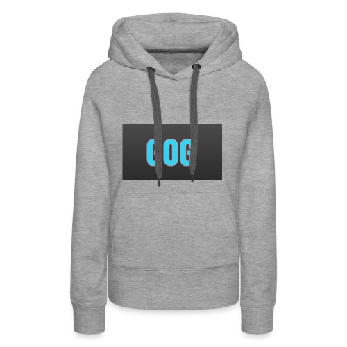 The simple gog T-shirt - Women's Premium Hoodie