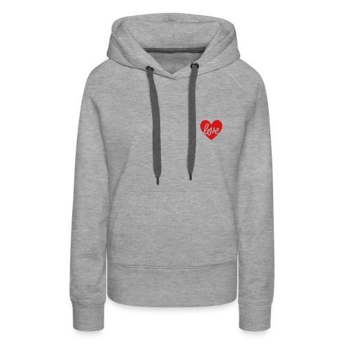 Love In My Heart - Women's Premium Hoodie