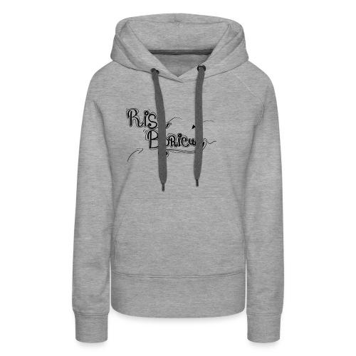 Risa Boricua Clothing and Accessories - Women's Premium Hoodie