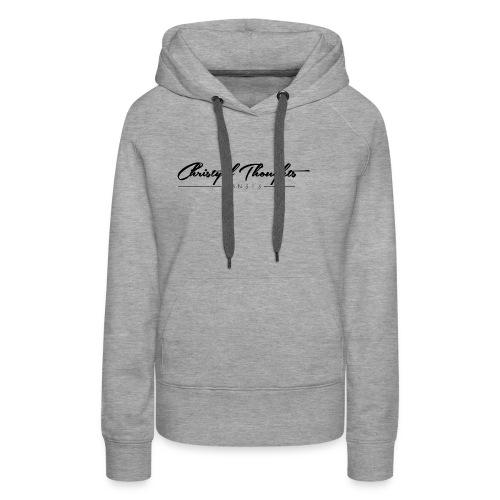 Christyal Thoughts C3N3T3 - Women's Premium Hoodie