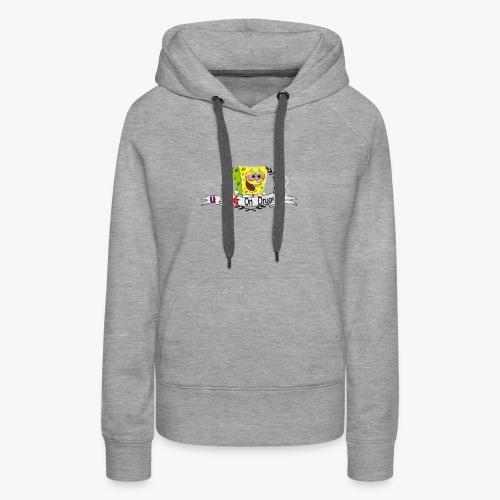 (War) On Drugs Spongebob UT - Women's Premium Hoodie