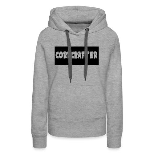 CoreCrafterLogo - Women's Premium Hoodie