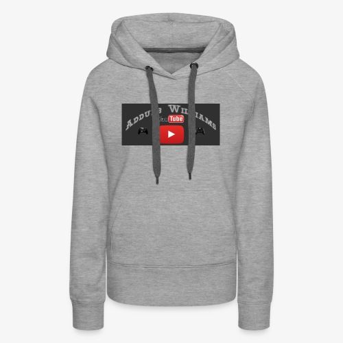 My First Logo For Merch - Women's Premium Hoodie