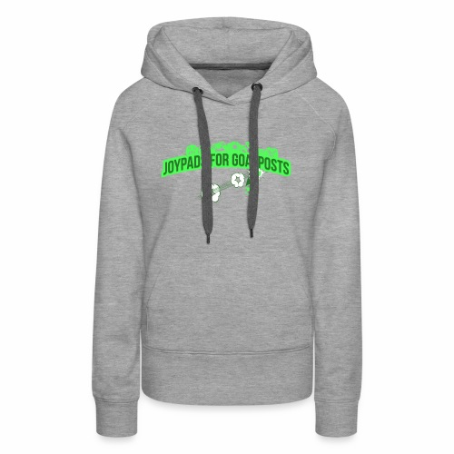 Joypads for Goalposts Classic Logo - Women's Premium Hoodie