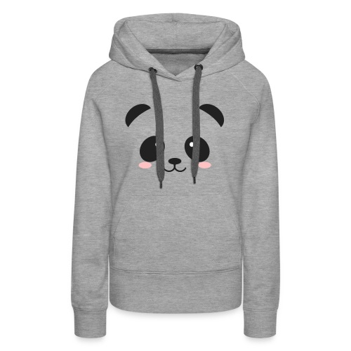 Panda Simple Face - Women's Premium Hoodie