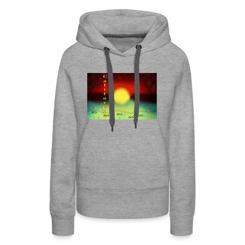 Sunset By Sea, California Product - Women's Premium Hoodie