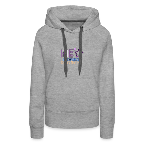 Neopunch Don't Get Hit - Women's Premium Hoodie