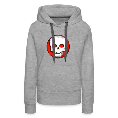 Skull Zone Logo - Women's Premium Hoodie