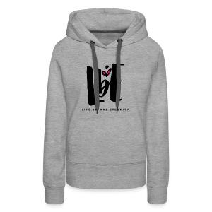 lbe alt logo 5000px png - Women's Premium Hoodie