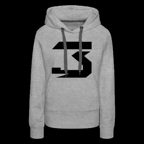 JM #3 (black) - Women's Premium Hoodie