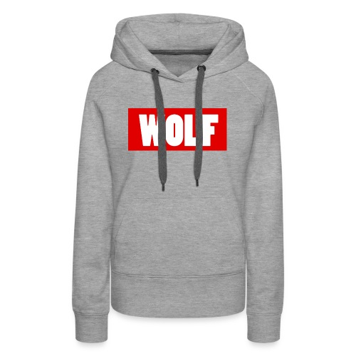#Wolf - Women's Premium Hoodie