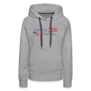 Vote for real American values! - Women's Premium Hoodie