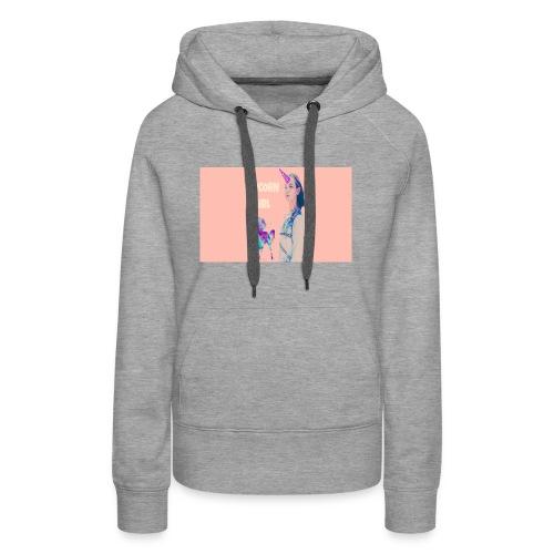 unicorn girls shirt - Women's Premium Hoodie