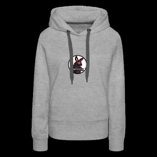 Bunny Assassin Logo - Women's Premium Hoodie