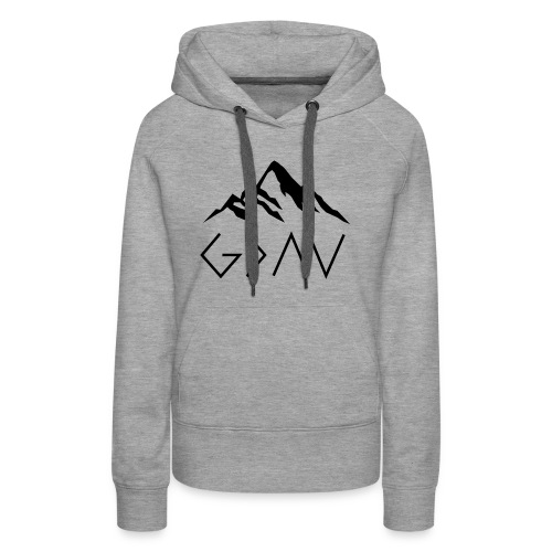God Is Greater Than The Highs And Lows - Women's Premium Hoodie