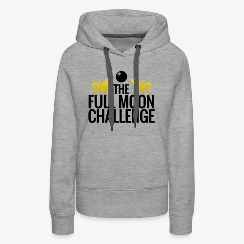 Full Moon Challenge Colour - Women's Premium Hoodie